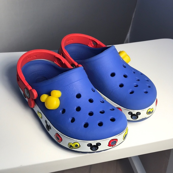 fc48b684b CROCS Other - Mickey Mouse Crocs Size 10-11